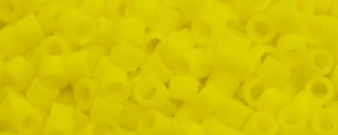 AIKO Precision Cylinder Beads Yellow Matte 42F